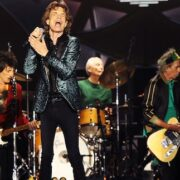 Rolling Stones performing live